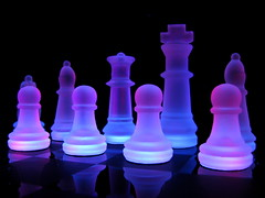 Luminous Chess photo by jciv