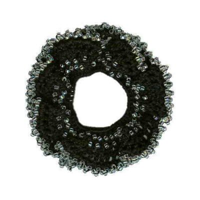 Free Crochet Pattern: Boucle Hair Tie Scrunchie