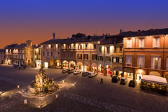 Cesena by night! photo by Reportergimmi