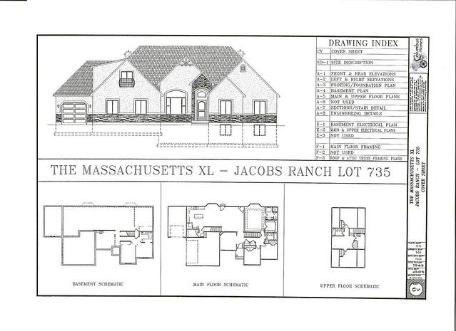 The Rambler 1594 Sq Ft 3 BR - 2 BA Log Home Floor Plan - Suwannee