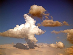 mirada hacia las nubes photo by guadags