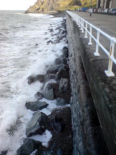 Sea front in Aberystwyth