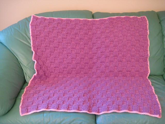 Crochet Basket Weave Afghan Baby Blanket Pattern And Tutorial : BASKET CROCHET PATTERN WEAVE - Crochet ? Learn How to Crochet