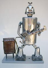 Robo Rocker...Heavy Metal Man...? photo by Lockwasher