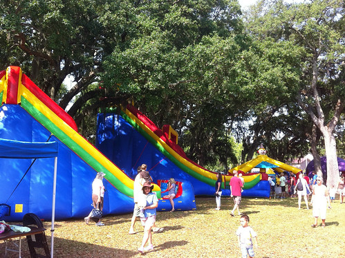 Kid's fun day on Amelia Island