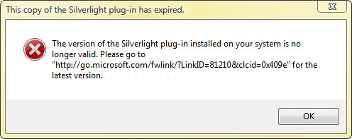 SilverlightExpiredMessage