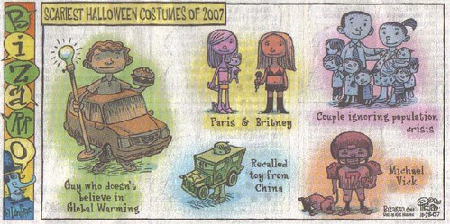 Halloween Comic Strip
