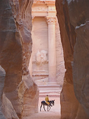 The Treasure of Petra photo by Marco Di Fabio