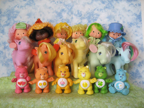 rainbow of 80s toys photo by merwing✿little dear