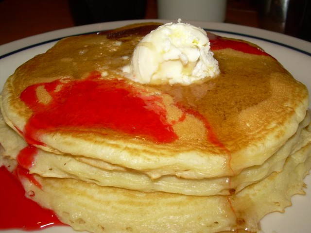 Pancakes on IHOP Free Pancake Day | Flickr - Photo Sharing!