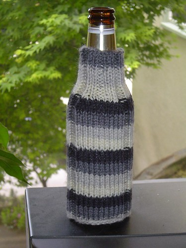 Knit Koozie Pattern : CROCHET BEER COZY PATTERN Crochet Patterns