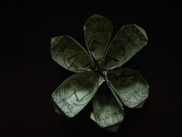 Diagram Flower Fold Origami