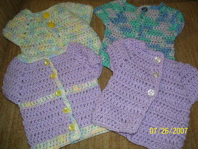 Free Crochet Baby Dresses and Skirt Patterns
