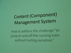Content (Component) Management System