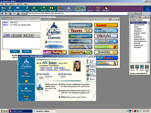 90s chat rooms