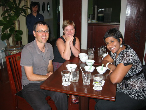 Christopher Madden and staff of the Asia-Europe Foundation (ASEF), Singapore, March 2007