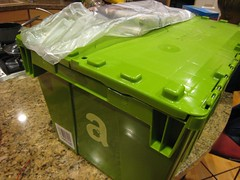 Amazon Fresh Delivery (with newspaper)