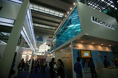 Microsoft booth-1