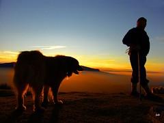 """Mi """"Olentzero"""" con su perro photo by Jabi Artaraz"""