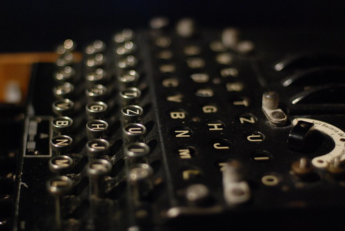 New Orleans - D-Day Museum - Enigma Machine - 3-9-08