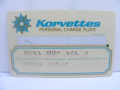 Korvettes Credit Card! photo by slade1955