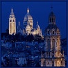 Sacre Coeur at Twilight, Montmartre