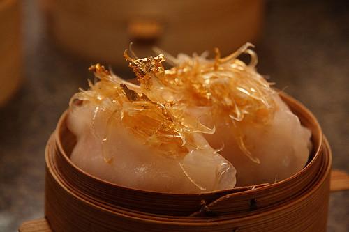 金箔鮮蝦魚翅餃 (by Audiofan)