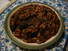 Fish-Fragrant Eggplants with Chicken