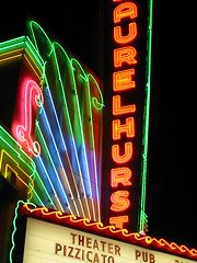 Laurelhurst neon by Andrew Morton