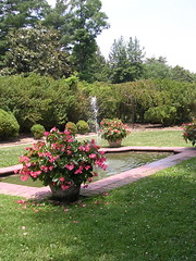Fountain at the Woodlawn Plantation