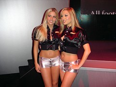 SRS Beauties: Sasha Singleton and friend photo by Joits