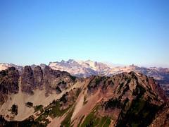 Mt Daniel from Alta peak
