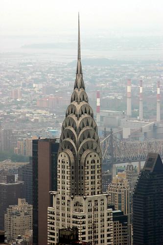 Chrysler Building Close-up
