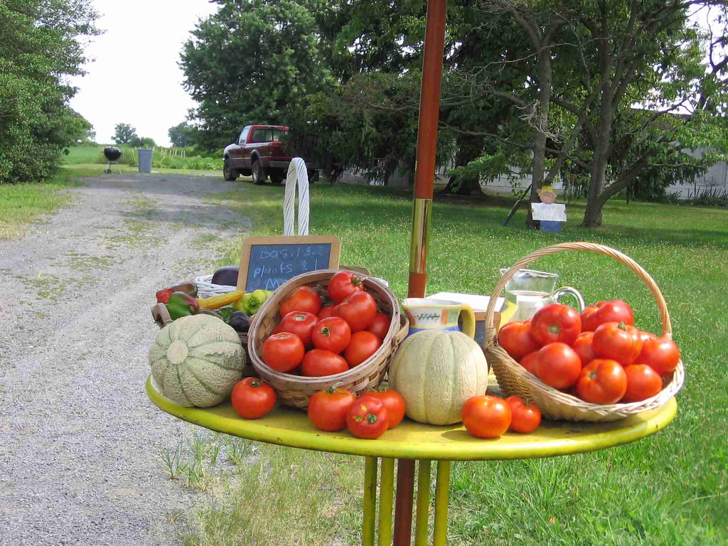 Photo of farmstand