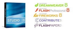 Box screenshot of Macromedia Flash Professional 8