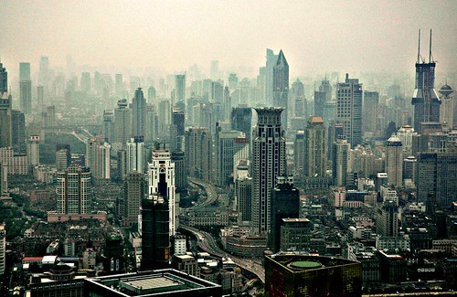 Shanghai Skyscape photo by pmorgan