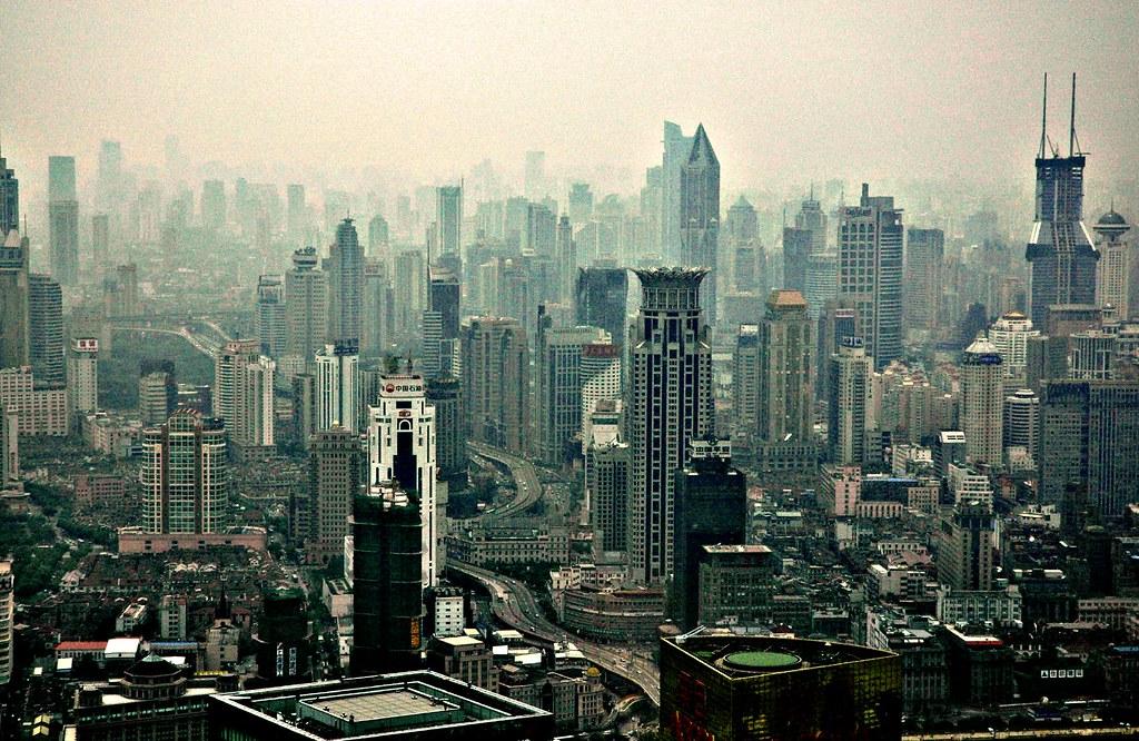Shanghai Skyscape photo by pmorgan