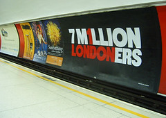 One London Ad - seen at Bank Station