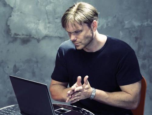 Hacker guy
