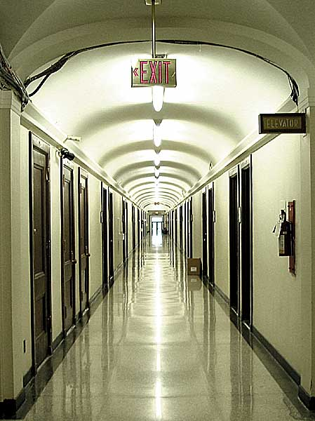 Bureaucratic Hallway