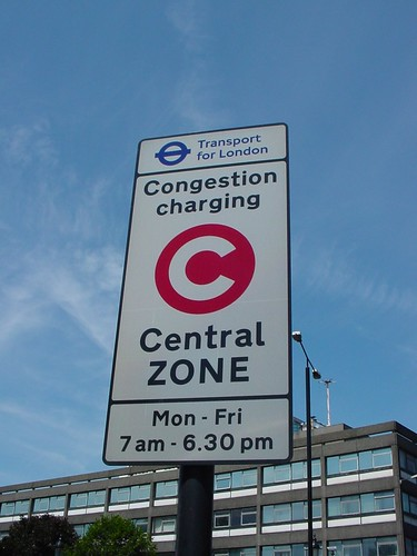 London Congestion Charging Sign - Manchester Next?