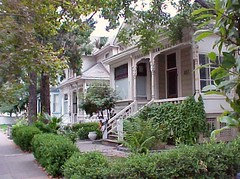 houses, S 3rd Street, San Jose, August 21, 2005
