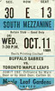 Leafs - October 11, 1989