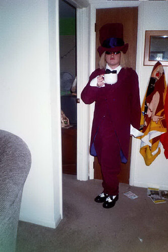 Allison as Tom Petty as The Mad Hatter