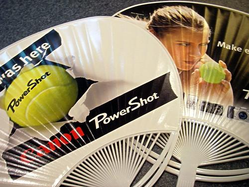 US open promotion fan photo by OptioWP