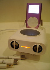 iPod speakers from COMEX
