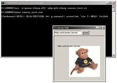 Gnome.Canvas in MS Windows