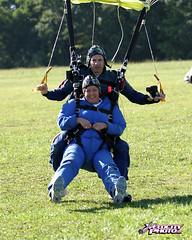 Me landing!