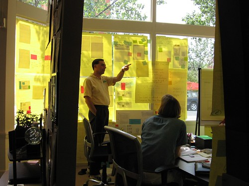 Discussing designs