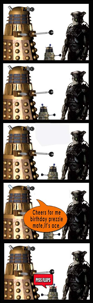 Dalek and Borg prezzie
